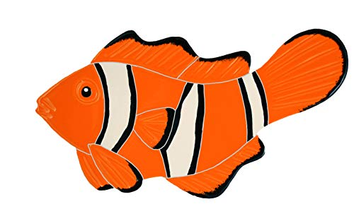 Artistry in Mosaics Clown Fish Ceramic Swimming Pool Mosaic (5