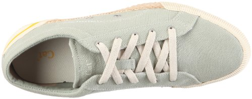 Caterpillar KEA CANVAS Damen Sneaker Grau/Lily Pad/White