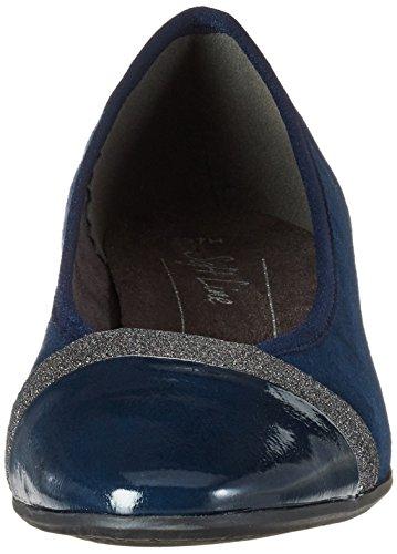 Ballerine Blu Softline Donna 22165 Navy p8pH6w