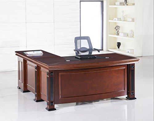 Napoleon Series Wood Veneer Desk (L Shape)