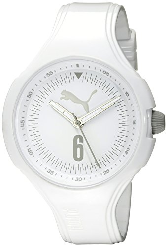 [PUMA Women's PU911201009 Wave Analog Display Quartz White Watch] (Puma New Wave)
