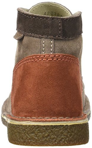 Kickers Legendoknew Damen Stiefel & Stiefeletten Marron (Marron Clr Marron Orange)