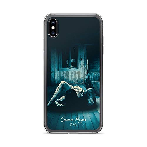 iPhone Xs Max Case Anti-Scratch Motion Picture Transparent Cases Cover Samara Morgan The Ring Movies Video Film Crystal Clear