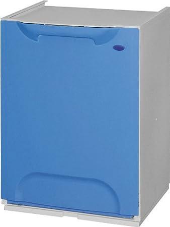 Cubo de Reciclaje Pl/ástico Apilable Duett 6 colores