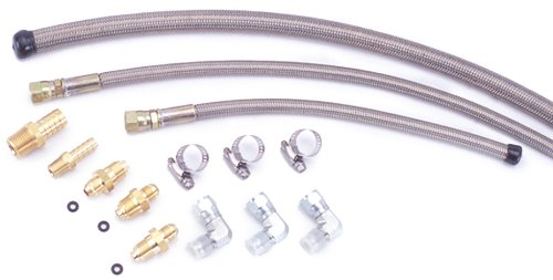 Flaming River FR1610 Stainless Braided Hose Kit by Flaming River