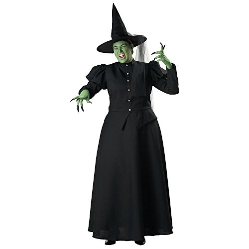 InCharacter Costumes Women's Plus-Size Witch Adult Plus Size Costume,  Black, 3X ()