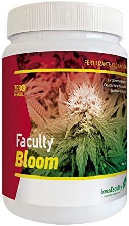 GreenFaculty Faculty Bloom: Fertilizante ABONO ESTIMULADOR FLORACIÓN. Polvo Soluble 500 g. Cero Residuos. Apto para Cultivo Medicinal