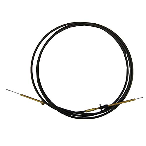 (Johnson/Evinrude New OEM 12' Throttle/Shift Remote Control Cable 0768342 768342)