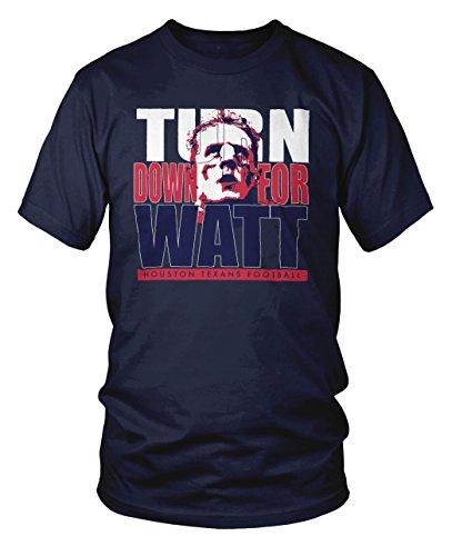 turn-down-for-watt-houston-football-fan-t-shirt-3xl