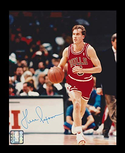 John Paxson Chicago Bulls NBA Autographed Signed Memorabilia 8 X 10 Photo 20607 - Certified Authentic