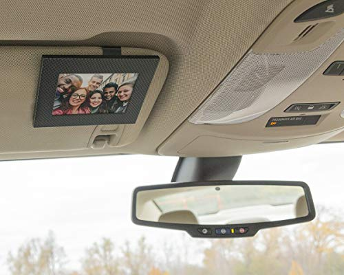VISOR FRAMES   Clips to Car Sun Visor   Fits Standard Wallet Size Photo (2.5