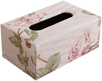 Depory 1pc Caja de Pañuelos Caja de Cuero para Toallas de Papel para Decoración Hogar y Oficina (S): Amazon.es: Hogar
