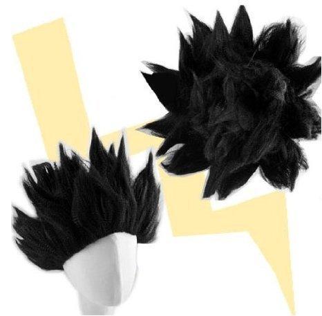 [Terryinc Costume Wig Dragon Ball Z Goku Anime Cosplay (black)] (Goku Wig)
