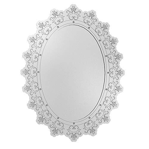 Quadro Espelho Decorativo Veneziano Sala Quarto 3895