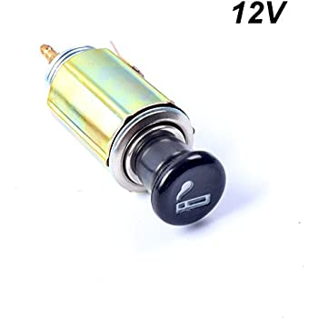 Car Auto Cigarette Lighter Replacement Plug & Socket Assembly Set DC 12V