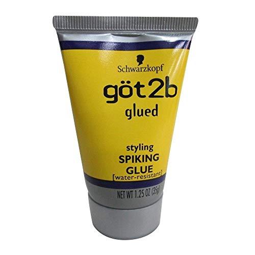 Schwarzkopf got2b Glued Styling Spiking Glue 1.25 oz (Pack of 2)