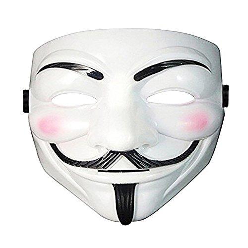 3 Pcs Lot V For Vendetta Face Guy