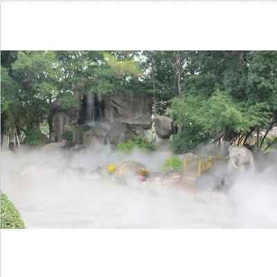 New 110V 10 Head Ultrasonic Mist Maker Fogger Fog Water Pond Atomizer Air Humidifier