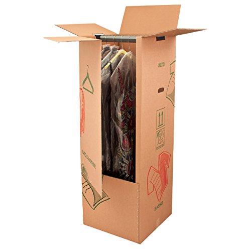 Appendiabiti 50x50x115 Kit Scatola Imballaggio Spedizione Trasloco Imballi (1) IMBALLO PRO