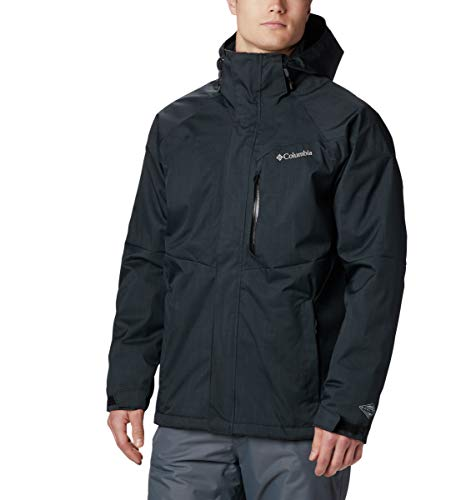 Columbia Men's Alpine Action Jacket, Black, Large (Best Cheap Snow Jackets)