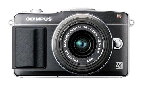 オリンパス ペンmini EPM2 ブラック レンズキット M.ズイコー デジタル1442mm F3.55.6 II R