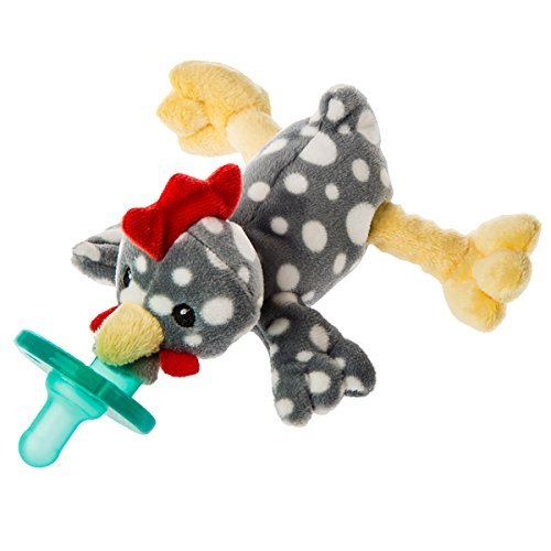 Mary Meyer WubbaNub Infant Pacifier ~ Rocky Chicken ()