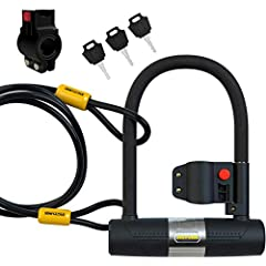With 850+ 5-star reviews here are 5 More Reasons to BUY your 16mm Heavy Duty Bike Lock U-Lock TODAY: 1.) Tested and 'Tested' - Not only do we lab-test our bike locks, but we give our bicycle locks a serious GO ourselves as well. Fun ensured!2...