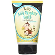 Baby Anti-Monkey Butt Diaper Rash Cream with Calamine, 3 oz