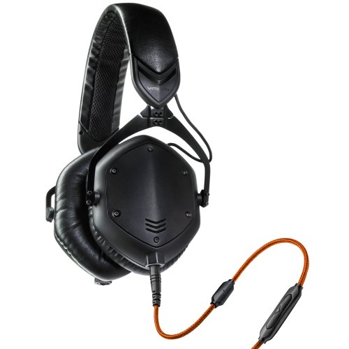 V-MODA Crossfade M-100 Over-Ear Noise-Isolating Metal Headphone (Matte Black Metal) by V-MODA