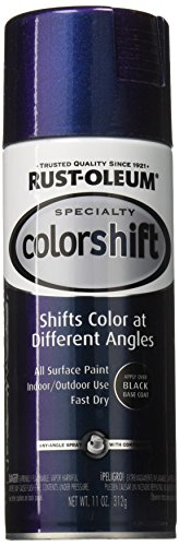 Rust-Oleum 254860 11-Ounce Specialty Spray Color Shift, Galaxy Blue (Oleum Rust Colors)