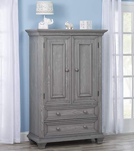 (Oxford Baby (OXFU8) 19085530 Westport Armoire Dusk Gray)