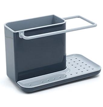 joseph joseph 85022 sink caddy kitchen sink organizer holder for dish soap sponge brush holder drains. Interior Design Ideas. Home Design Ideas
