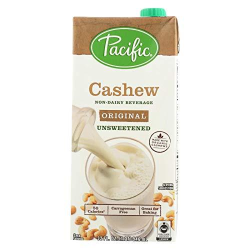 Pacific Foods, Cashew Beverage Original Unsweetened Organic, 32 Fl Oz