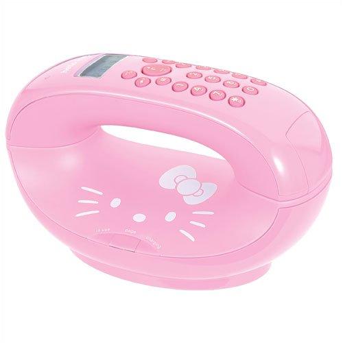Telephone Hello Kitty (Hello Kitty 2.4 GHz Digital Cordless Telephone)