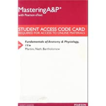 Mastering A&P with Pearson eText -- ValuePack Access Card -- for Fundamentals of Anatomy & Physiology