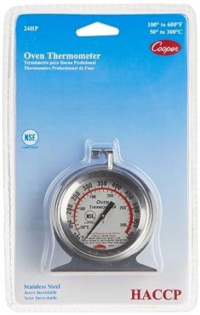 1044733dbf8e4 Cooper-Atkins 24HP-01-1 Oven Thermometer NSF HACCP SS 100 600°F °C ...
