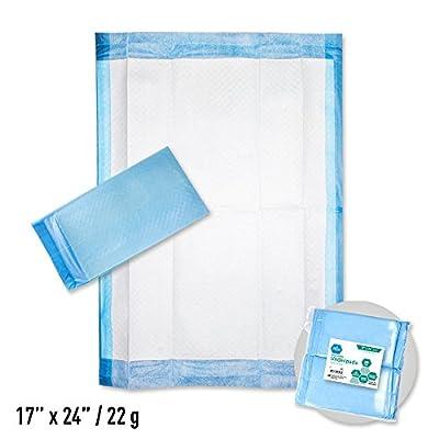 Medpride Disposable underpads 17 X 24, 22 Gram