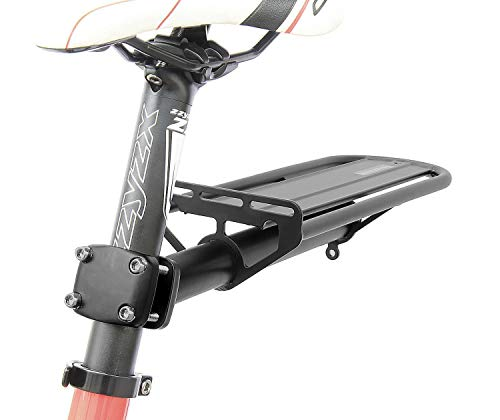 (CyclingDeal Bicycle Bike Alloy Seatpost Mount Rear Rack Carrier )
