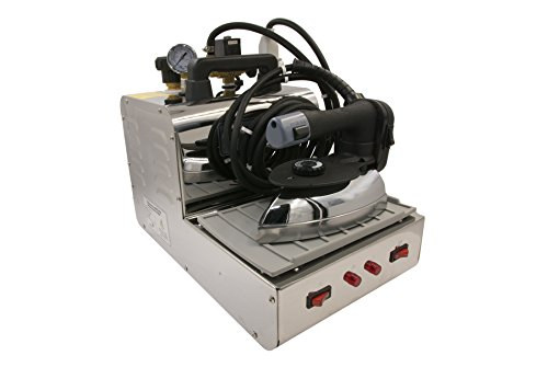 Silver Star Model SB-250 Professional 2/3-Gallon Steam Boiler Iron & Ironing Station by Silver Star