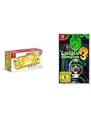 Nintendo Switch Lite, Standard, gelb + Nintendo Luigi's Mansion 3 - [Nintendo Switch]