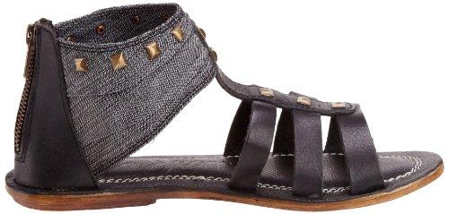 Pepe Jeans Venture, Damen Fashion-Sandalen Schwarz