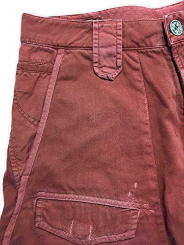 W34 Size Shorts Girbaud Cotton Whipshort Red Bermuda zU4zPq1