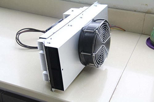 P&N TECHNOLOGY Peltier Thermoelectric Air Conditioner Cooler 200W 48V DC  -10 to +50C with IP55 Fans and Temperature Controller