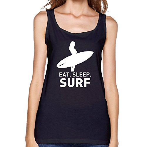 Eat Sleep Surf Thanks For Understanding For Women's Tank Top