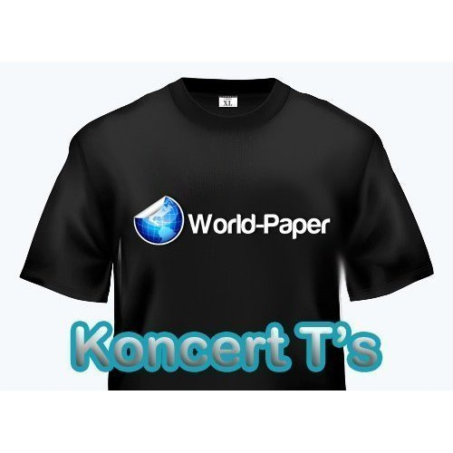 Neenah IMAGE CLIP KONCERT‑T's Transfer Paper ‑ 11'' x 17'' by world-paper