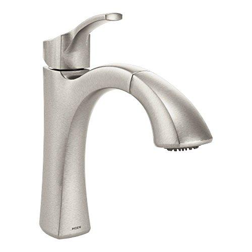 Moen 9125SRS Voss One-Handle High-Arc Pullout Kitchen Faucet