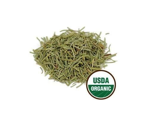 USDA Certified Organic Dried Whole Rosemary Leaf Rosmarinus Officinalis 8 oz(1/2 lb) by SS102