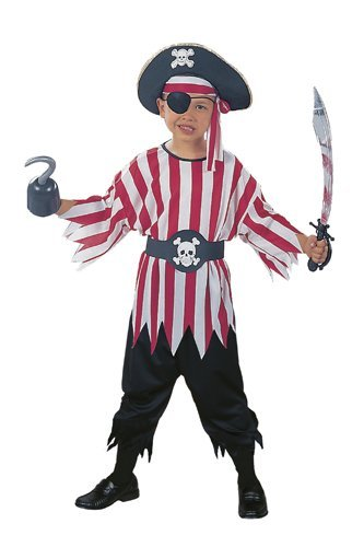 RG Costumes Pirate Boy Costume, Child Small/Size 4-6 - Pirate Costumes Boy