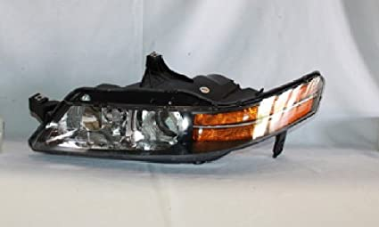 Amazoncom Acura TL Headlight Left Driver Side Automotive - 2004 acura tl headlights