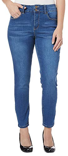 Royalty by YMI Womens No Muffin Top Skinny Denim Jeans 6 Medium wash